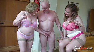 Hardcore mature action with more people intricate in group sex video