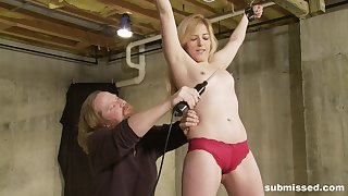 Full dominance for a petite girl while playing totally submissive