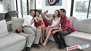 Super kinky daughter swapping with Aften Opal, Hime Marie and stepdads