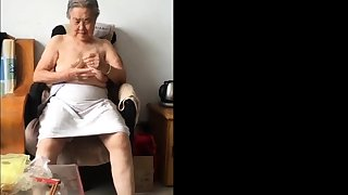Asian 80+ Granny After absolutely confess