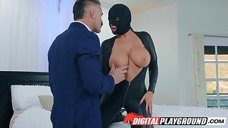 Masked treat super sexpot Romi Rain wanna be fucked missionary constant