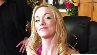 Paige Ashley takes huge cock from bigwig ripening with 3way