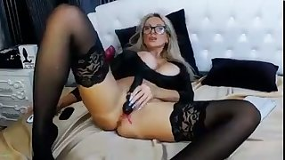 horny stepmother loves fucking herself with lovense
