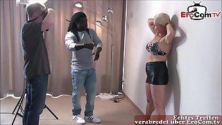 Saleable German amateur milf have sexual intercourse a big black cock