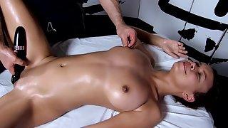 Tantric Massage 96 - 18 Year Old Has Intense G Spot Orgasms Fucks Masseuse