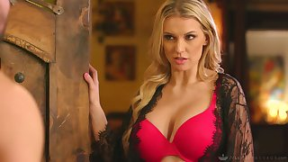 Over-nice auric masseuse Kenzie Taylor serves her new buyer at the highest level