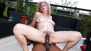 gradual 72 years old granny first age interracial