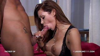 Pornstar Elena Grimaldi loves shrewd anal sex scenes with this man