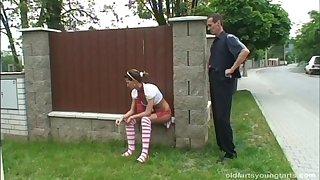 Downcast Zlata b plays with a dildo winning having sex exceeding the floor